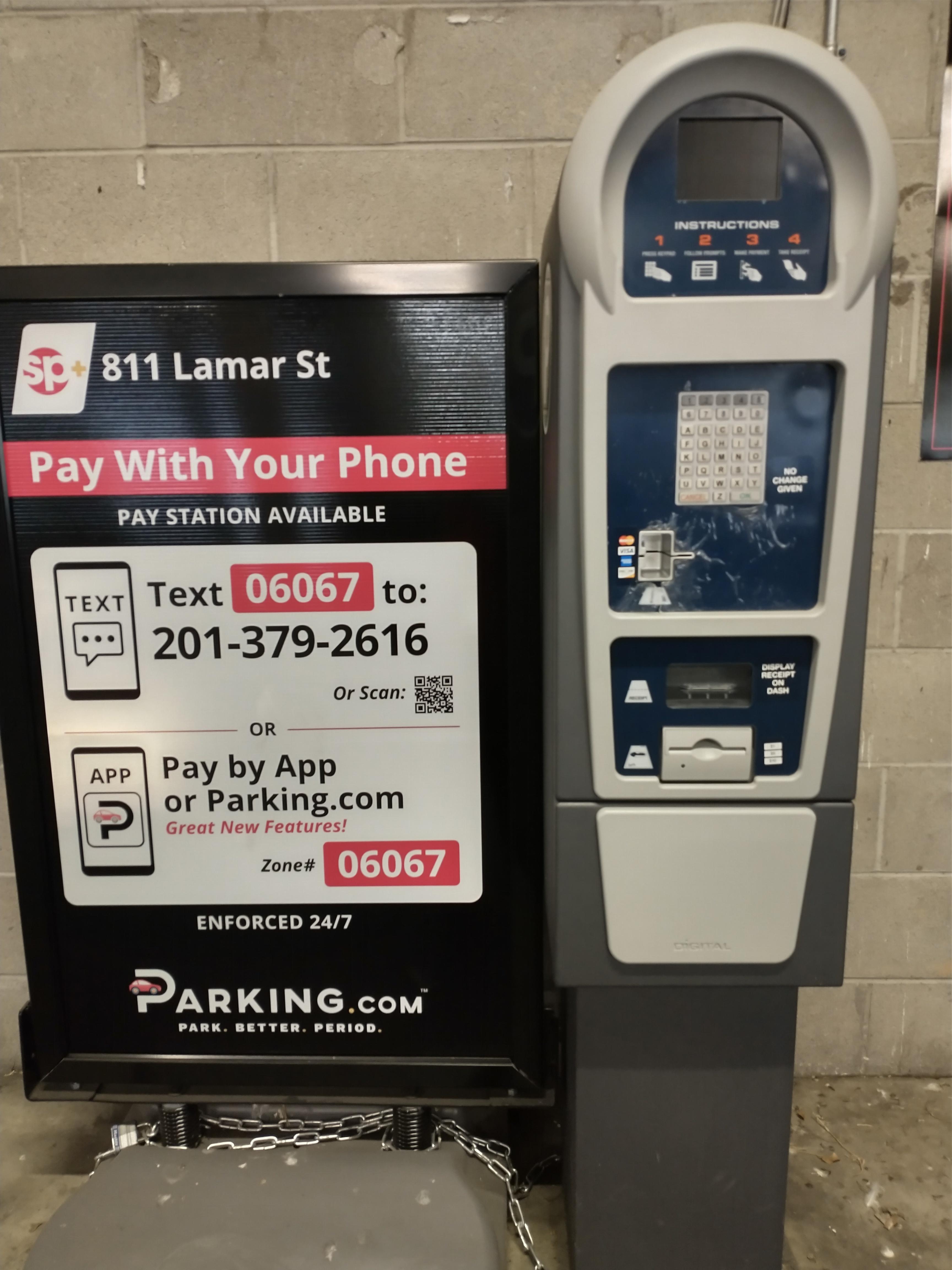 Parking.com signage