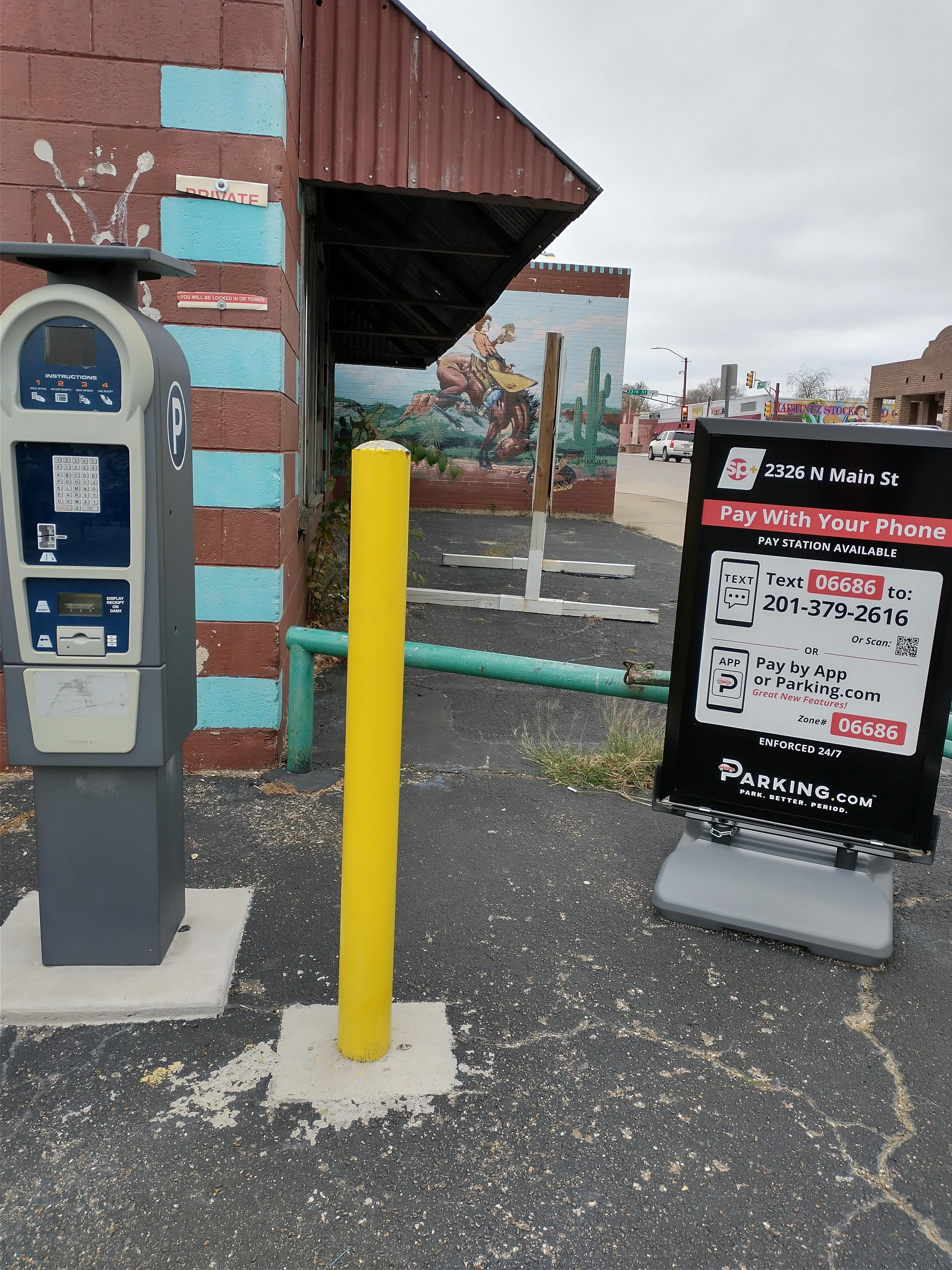 Parking.com Sigange