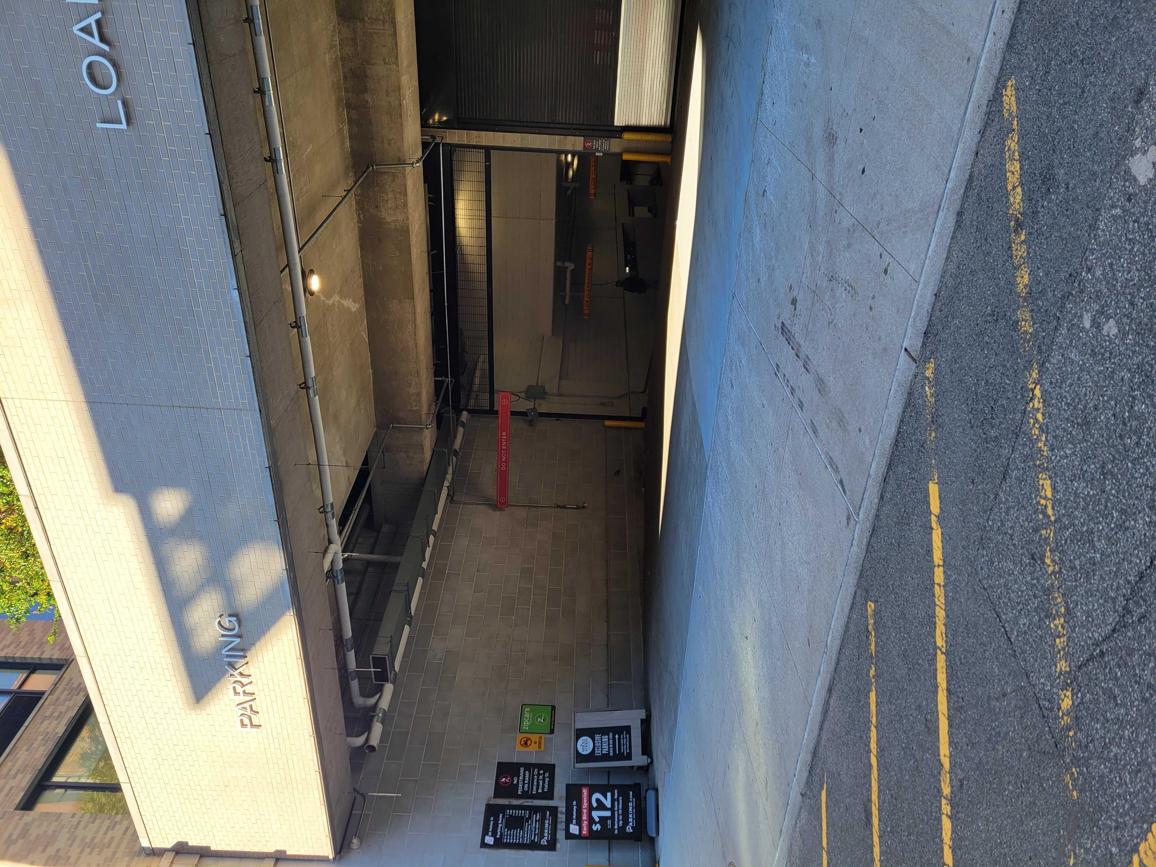 Vehicle Entrance