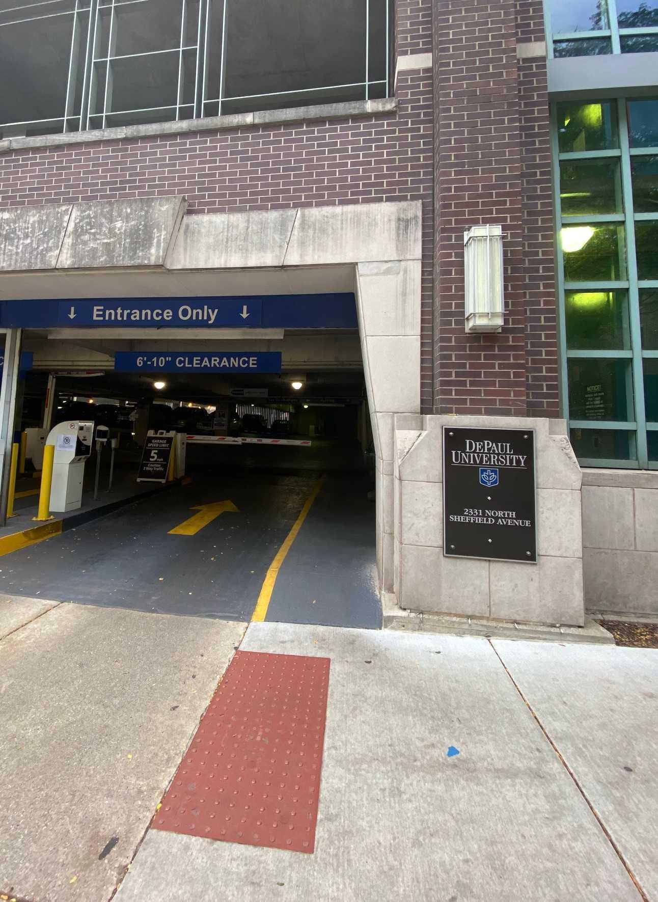 Entrance on Sheffield