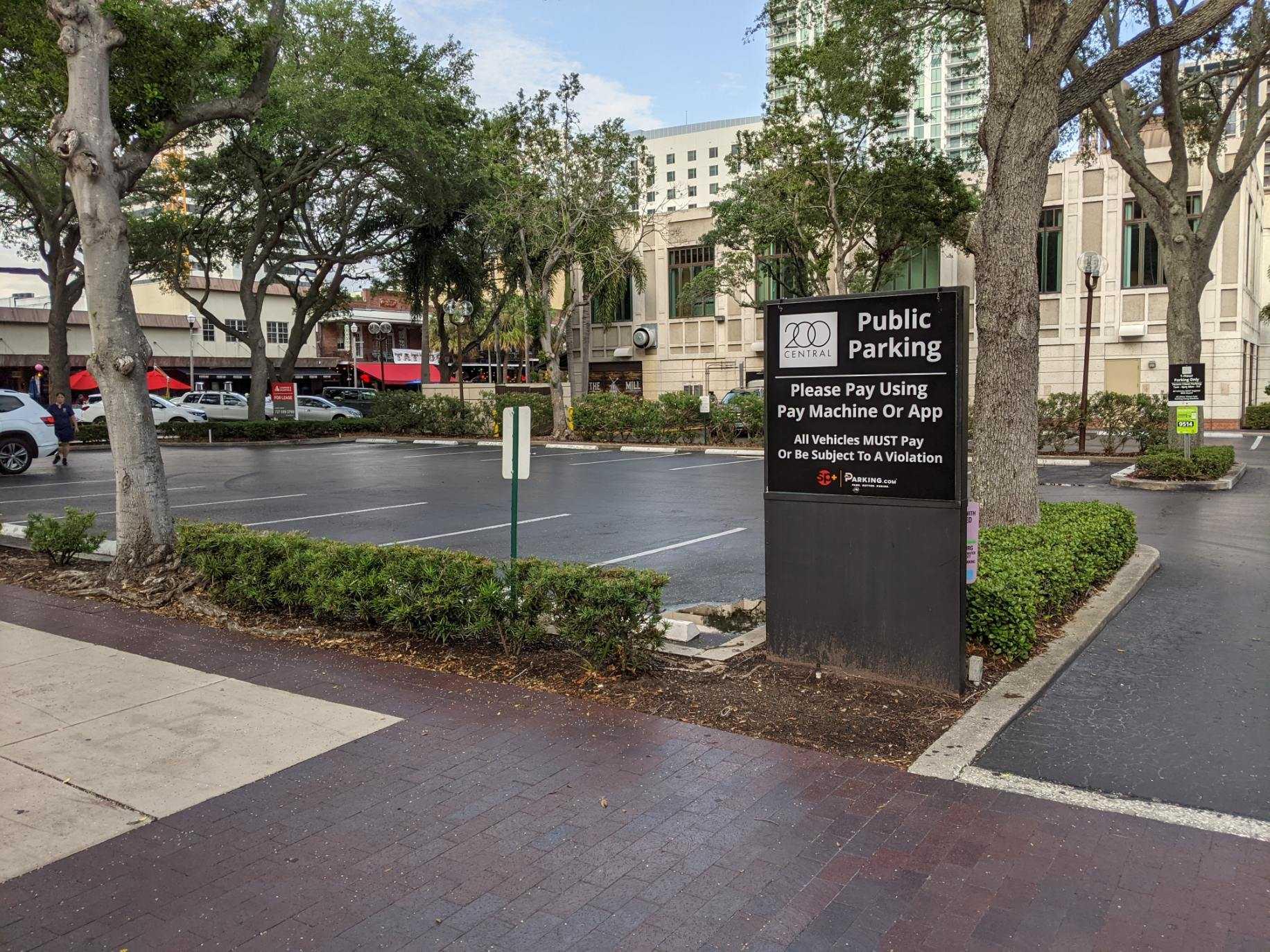 Location signage
