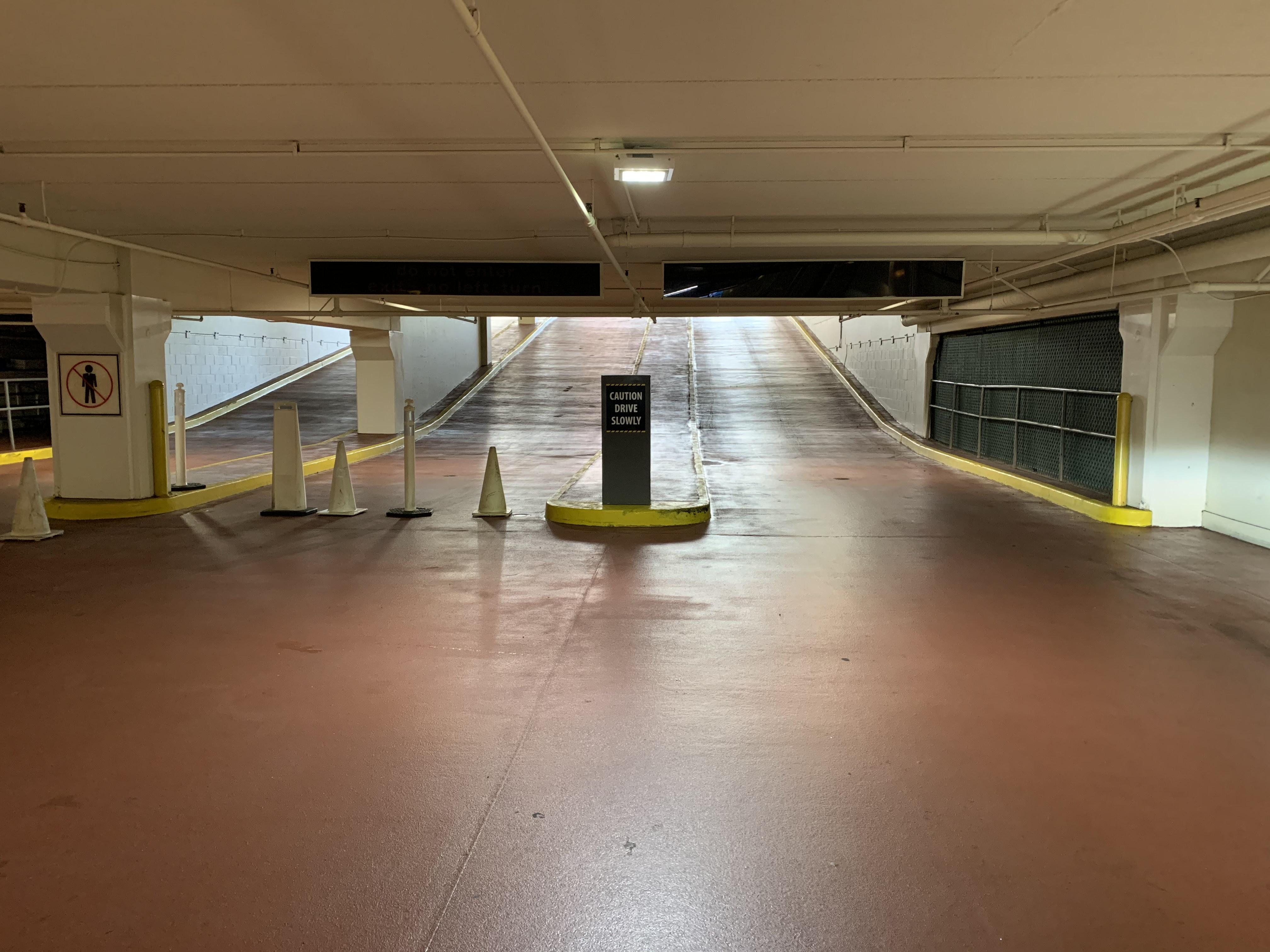 Garage Exit
