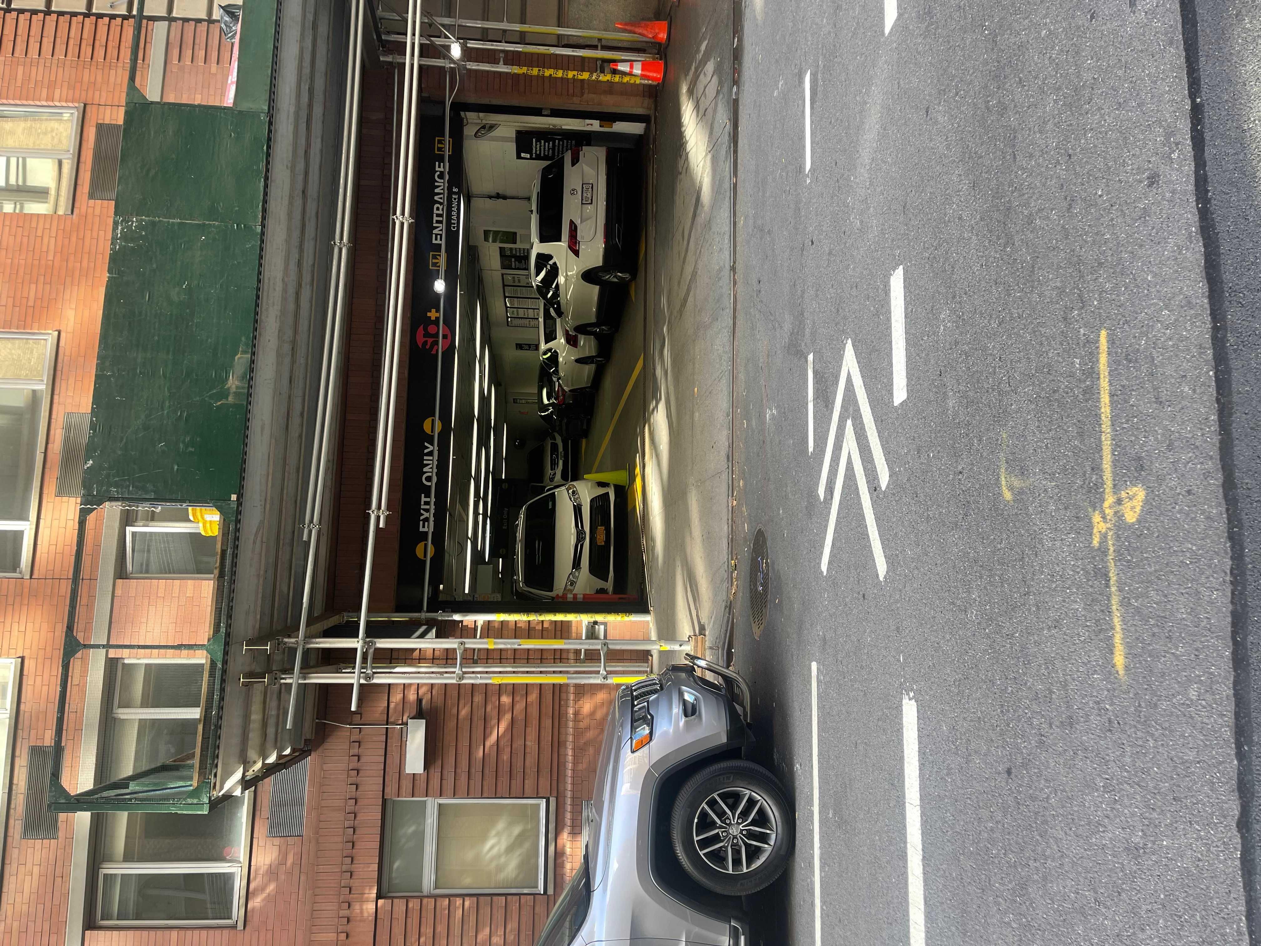 Garage Entrance/Exit